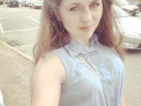 Массажистка Елена на улице