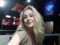 Массажистка Елена в кафе