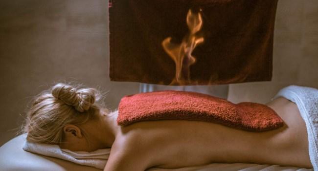 Обучение огненному массажу