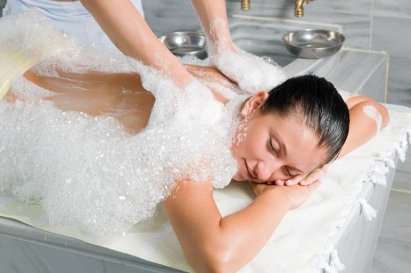 Аква-пенный массаж