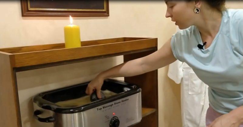 Печь для стоун-массажа
