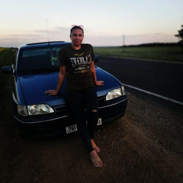 Массажист Серафима с авто