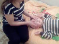 Массирую ребёнка
