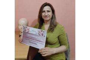 Массажистка Екатерина с сертификатом