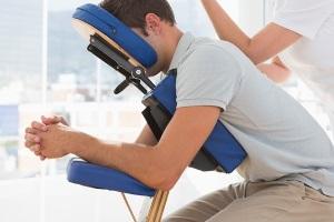 Экспресс-массаж на массажном стуле