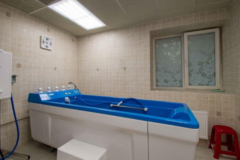Джакузи в санатории Березина